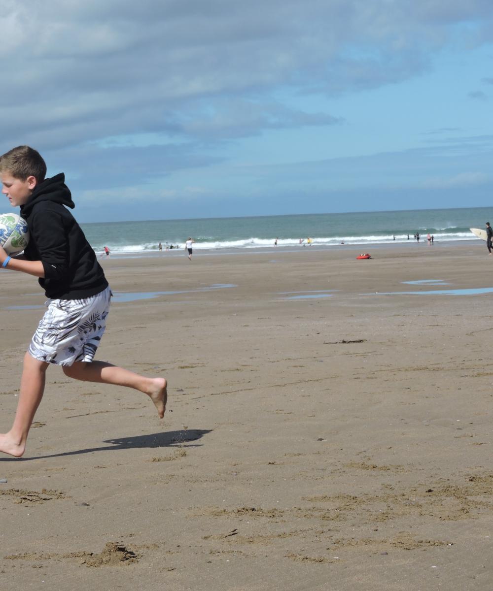 Beach Games, Woolacombe, North Devon