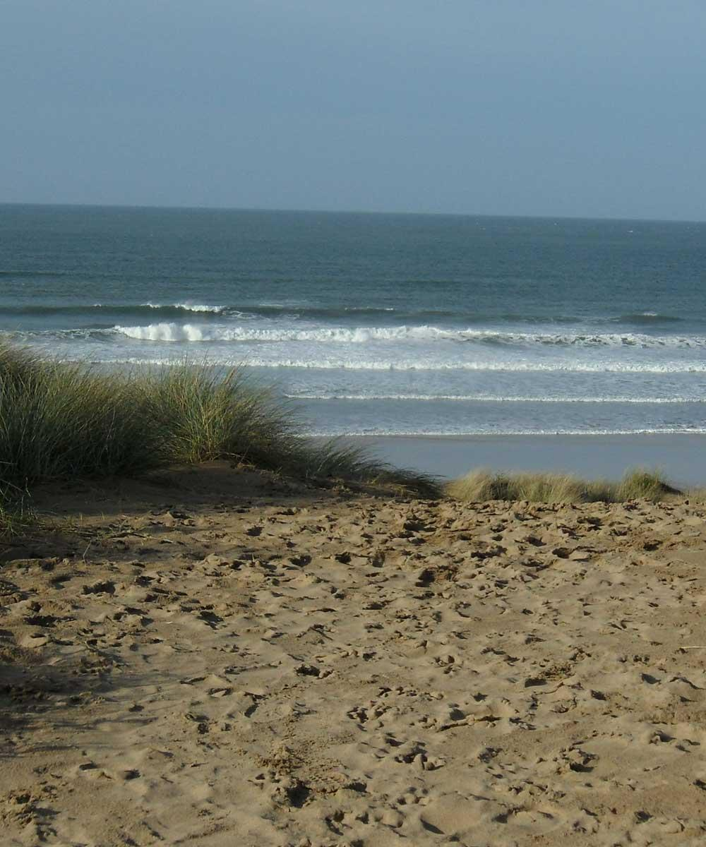 Sand Dunes at Woolacombe