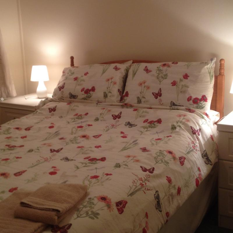 Double bedroom in our self catering cottage near to Woolacombe.