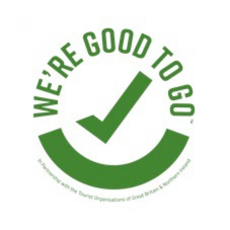 Good to go logo Visit Britain