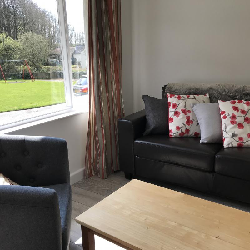3 seater sofa, Hibiscus